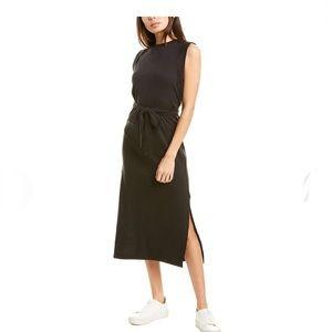 VINCE Wrap Waist Midi Casual Maxi Dress